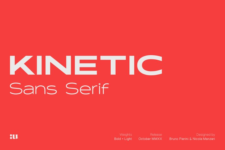 Kinetic Typeface