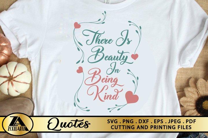 Be Kind SVG PNG EPS DXF Positive Quote SVG Inspirational SVG