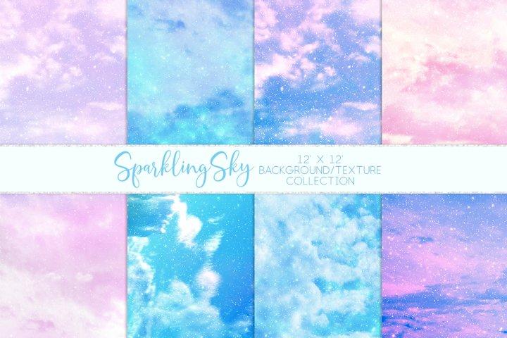 Sparkling Sky Texture