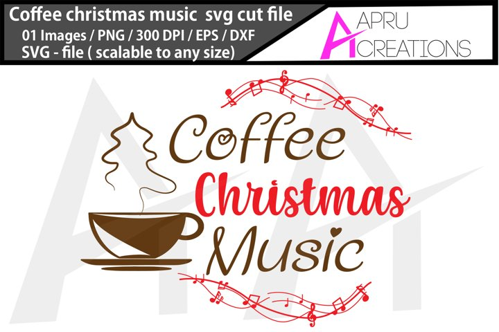 chritmas coffee / chritmas coffee music cutfile