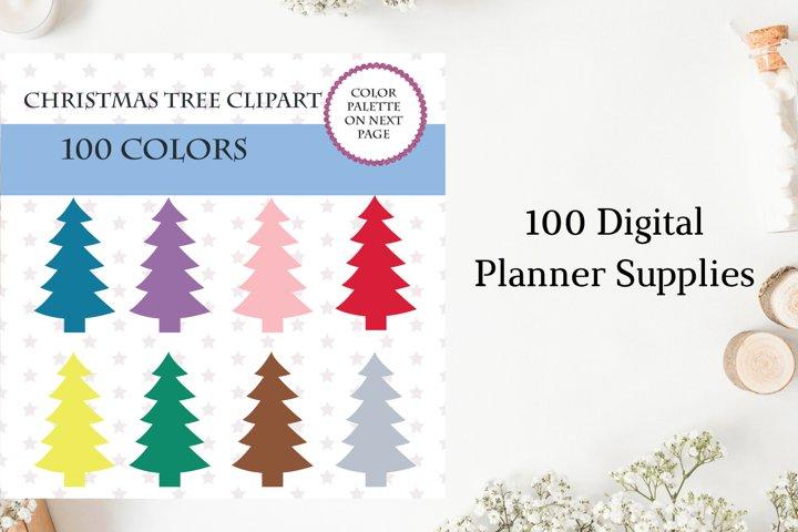 Christmas Tree Clipart, Christmas Tree Bundle