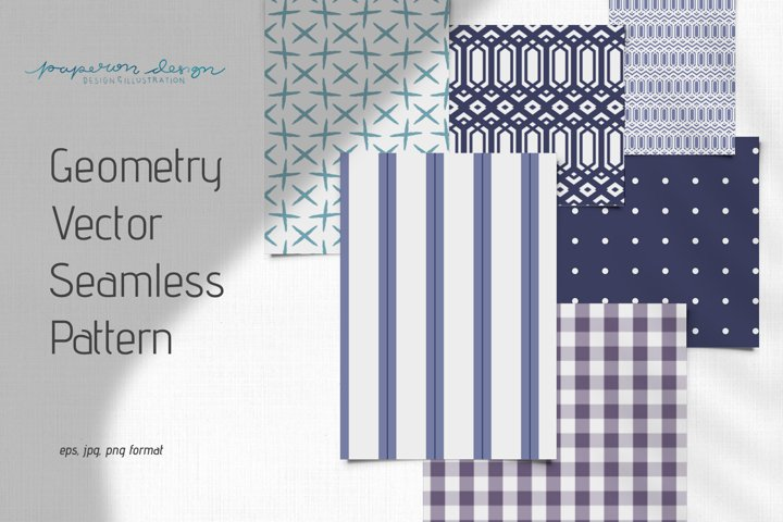 Geometry Vector Seamless Pattern