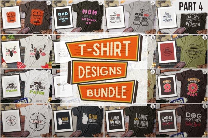 Mega Bundle! T-Shirt Cricut Bundle Files SVG Part 4 DXF