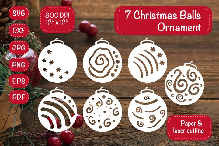 Christmas Ornament Christmas Bundle Christmas Balls Ornament