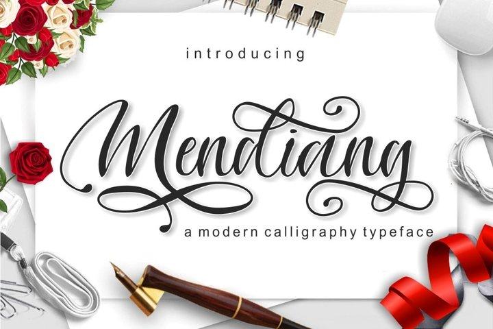 Mendiang Script