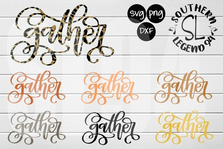 gather set of 7 svg png dxf