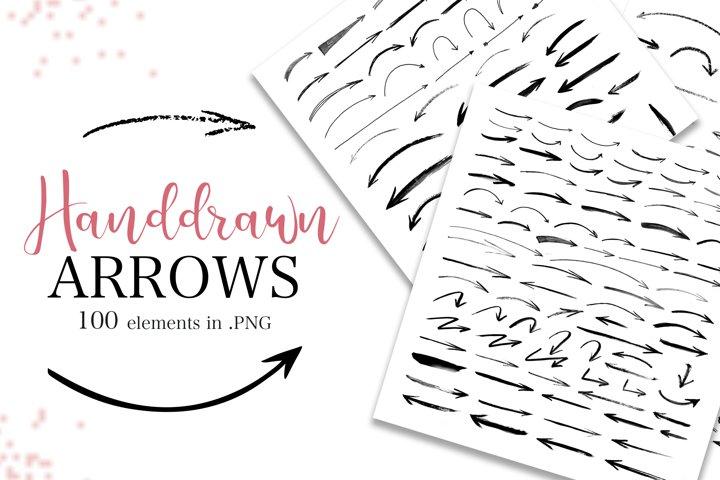 Handdrawn arrows Big Collection