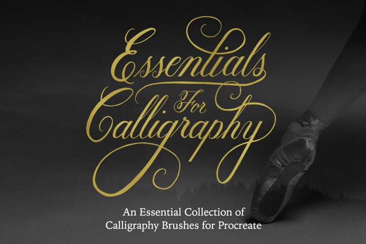 Essential iPad Calligraphy Brushes for Procreate