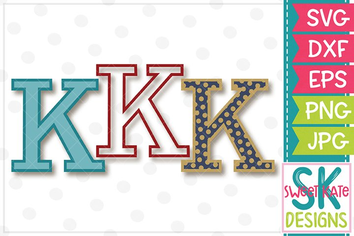 Greek Alphabet Kappa SVG DXF EPS PNG JPG