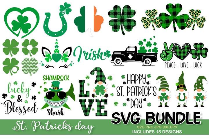St. Patricks Day SVG Bundle, clover svg, shamrock svg