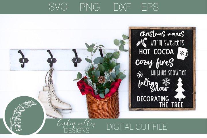 Christmas Favorites List