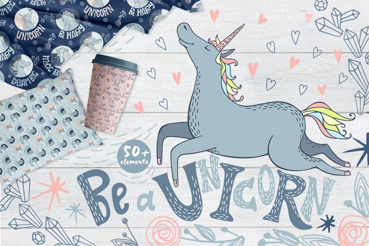 Unicorns Illustrations & Patterns