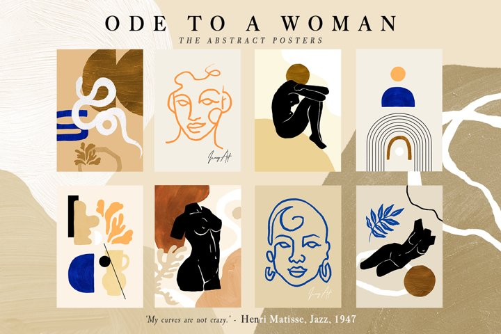 Ode to a woman Postcard Set