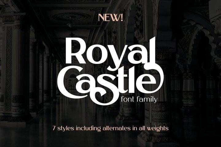 Royal Castle Font Family