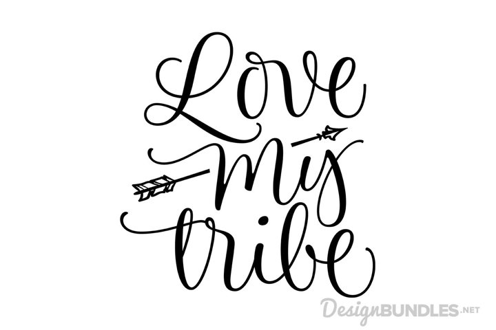 Love My Tribe example