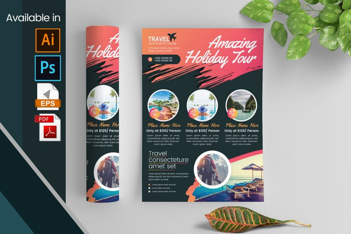 Travel And Tour Flyer
