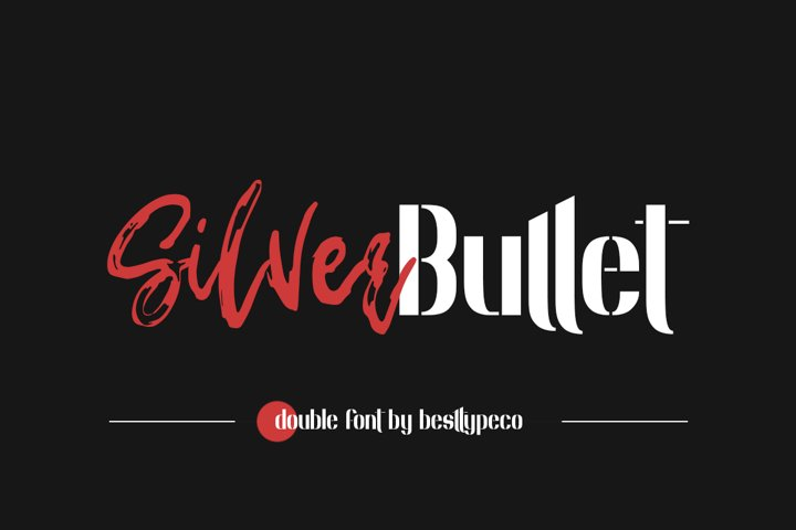 Silver Bullet Double font