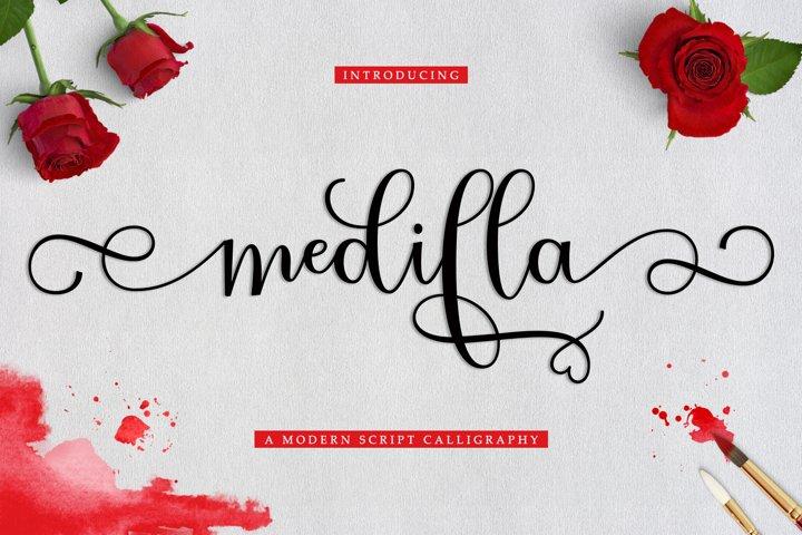 NEW Medilla Script