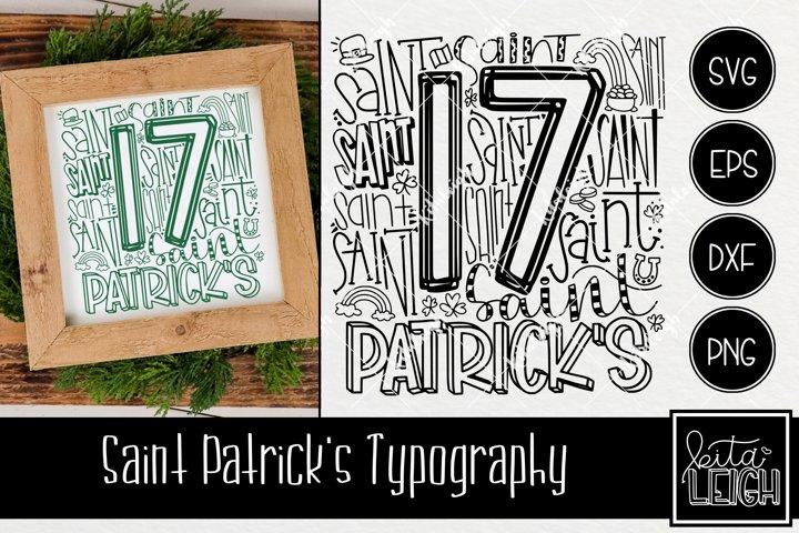 Saint Patricks Day Typography
