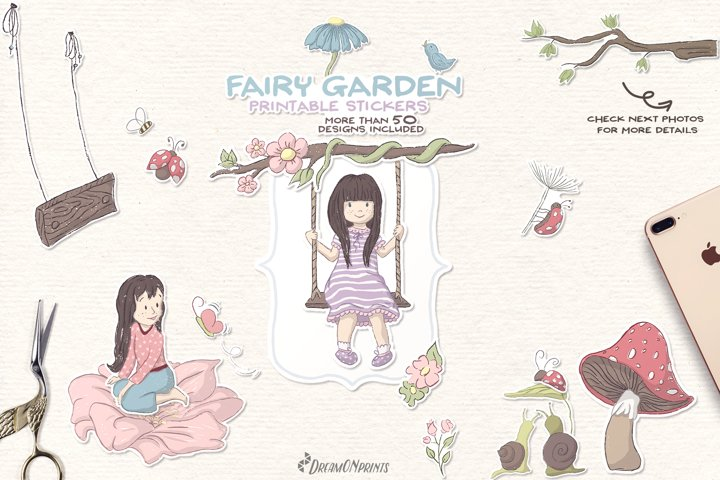 Whimsical Stickers | Fairy Stickers