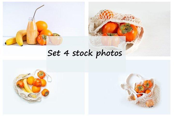 Set of 4 stock photos.