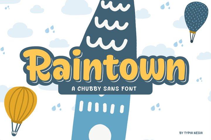Raintown - Chubby & Cute Sans