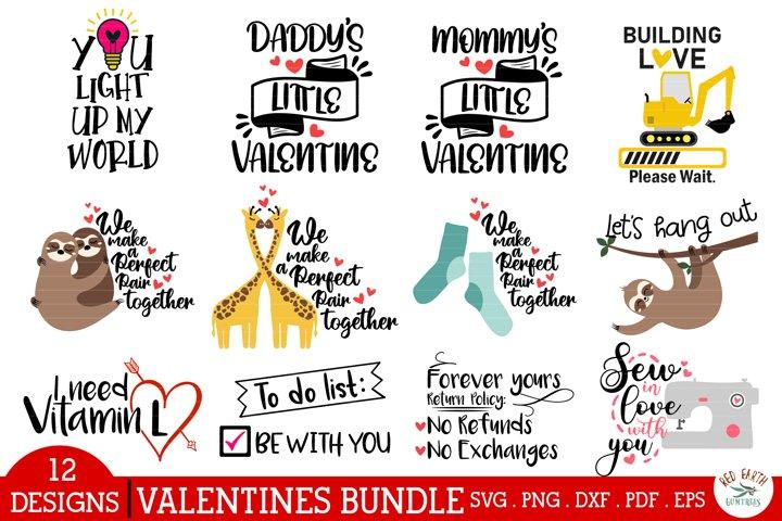 Valentines day quotes bundle SVG,PNG,DXF,sloth hug love svg