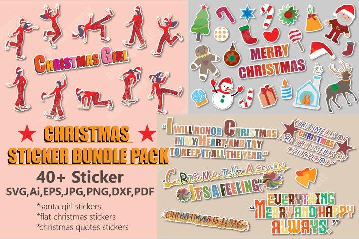 Christmas Stickers Bundle