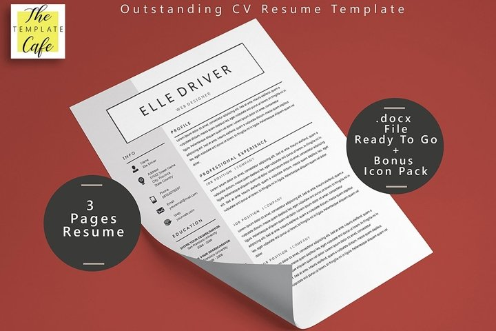 Simple Elegant MS Word Resume Template