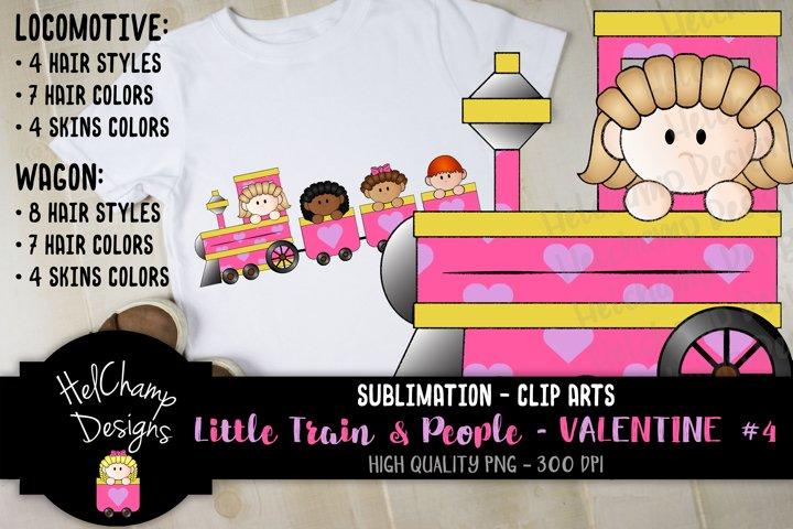 Little Trains collection - Valentine - LT010