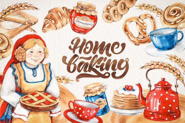 Scandinavian home baking set