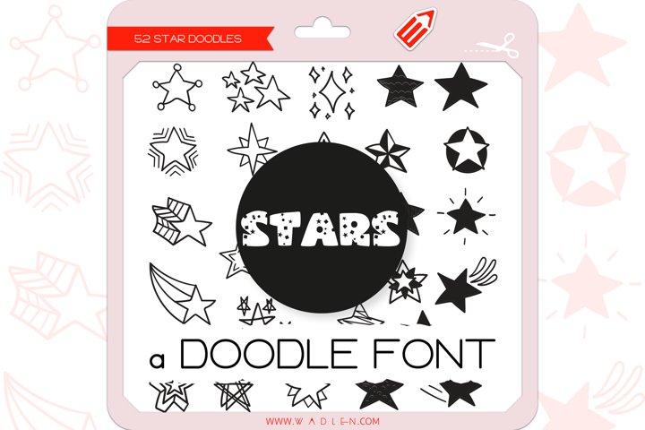 Star Doodles - Dingbats Font
