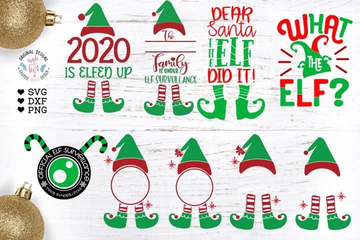 The Little Elf Bundle - 9 separate Elf designs