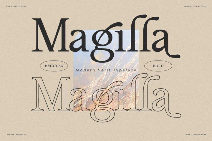 Magilla - Elegant Modern Serif