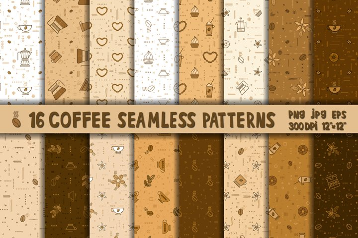 Coffee pattern,coffee bundle,coffee cup,coffee paper PNG