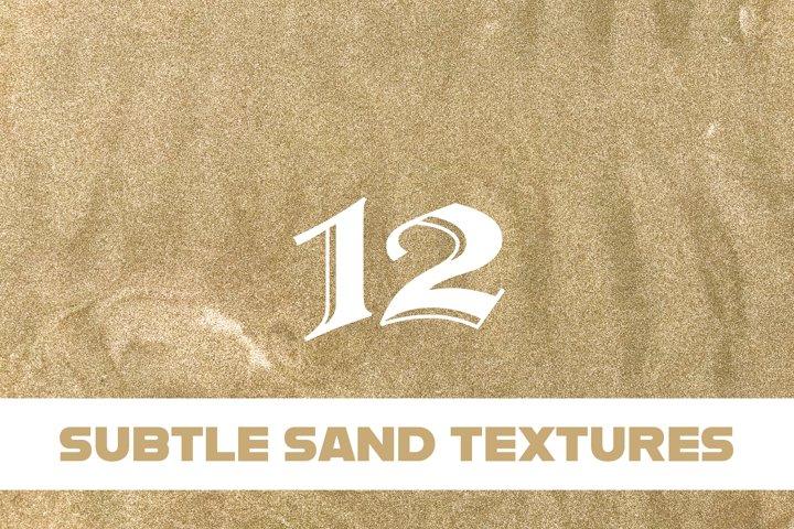 Subtle Sand Textures