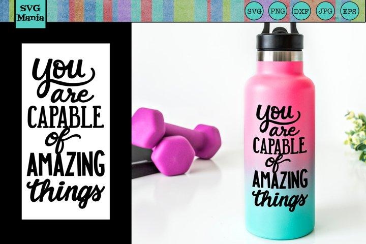 Water Bottle SVG | Gym SVG | Inspirational SVG | Workout SVG