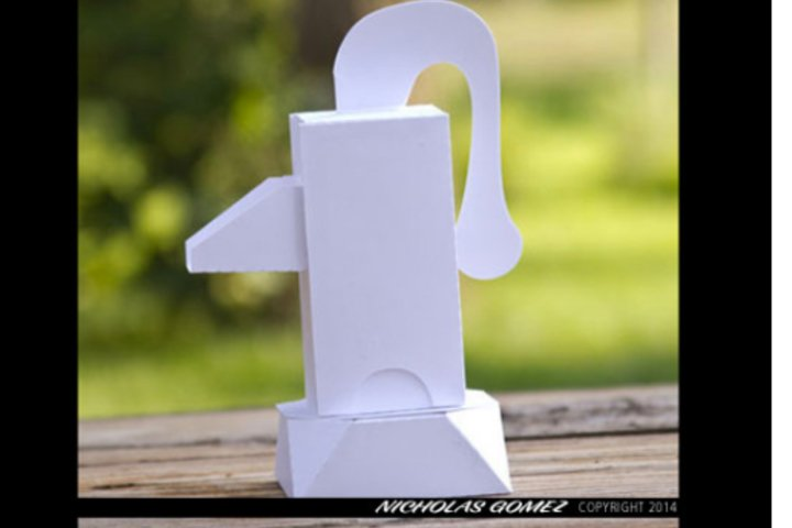 Pitcher Pump Gift Box 3D Cutting File SVG, DXF, PDF