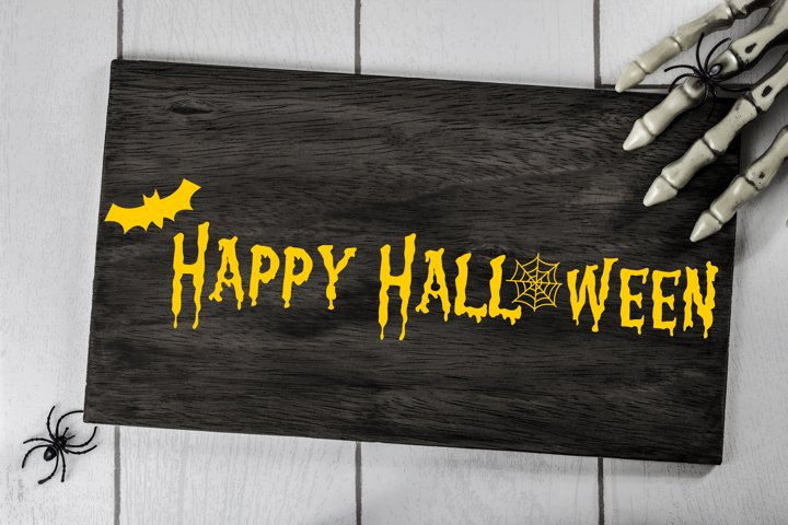 Happy Halloween Cut File - SVG & PNG