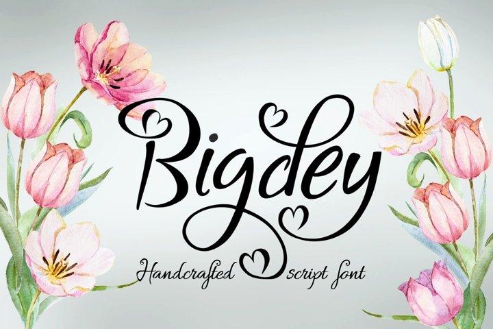 Bigdey Font