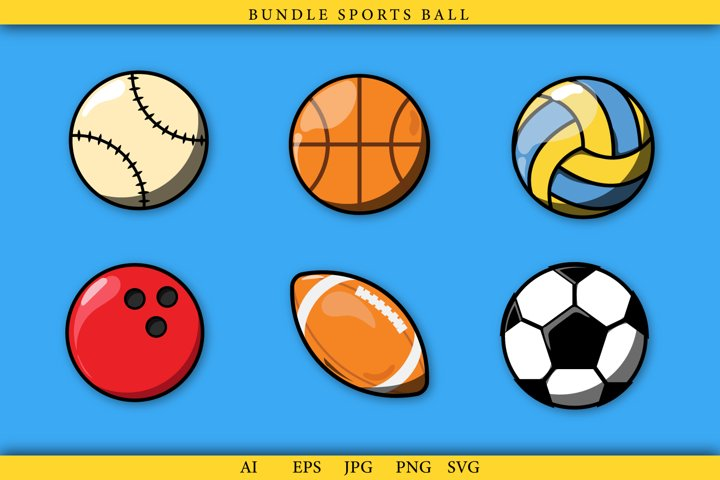 Bundle Ball Sports, Football, Bowling, volleyball, Etc