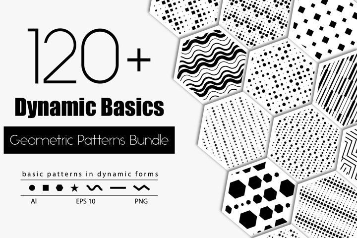 Dynamic basics - 121 geometric patterns