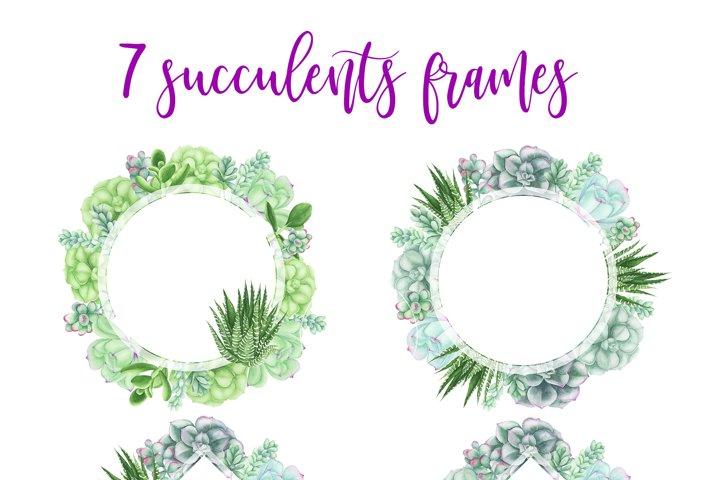 Succulents Bundle example 3