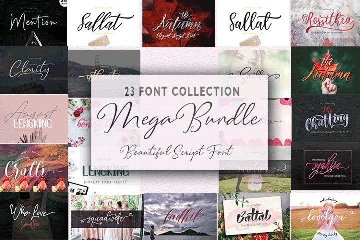 23 Font Bundle