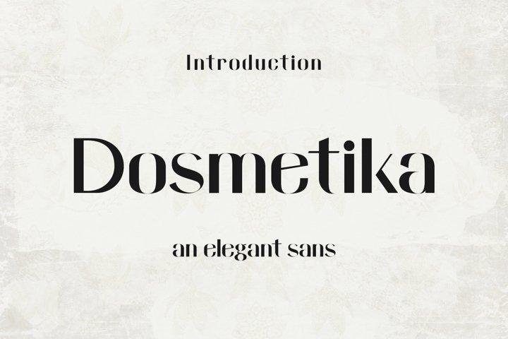 Domestika - Modern Sans