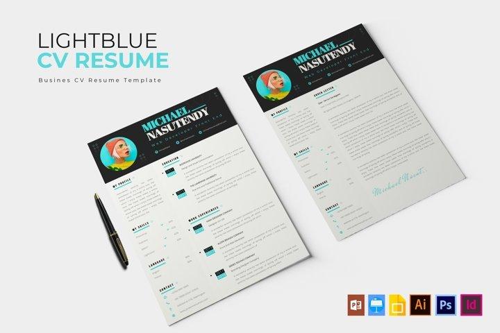 Light Blue | CV & Resume