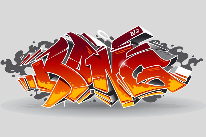 Bang | Graffiti Vector Art