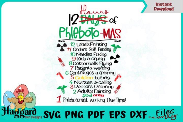 12 days of Phlebotomas