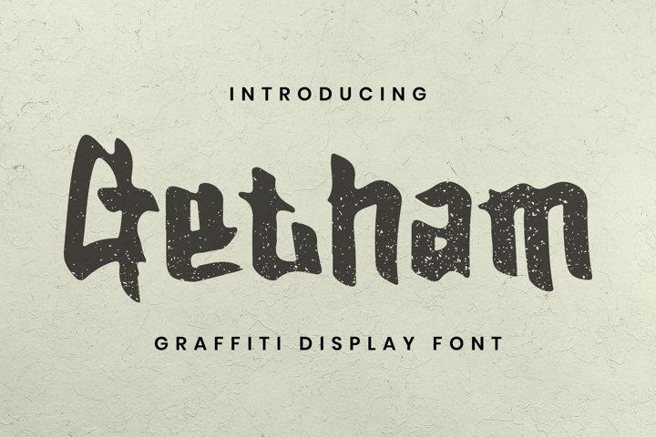 Getham Font