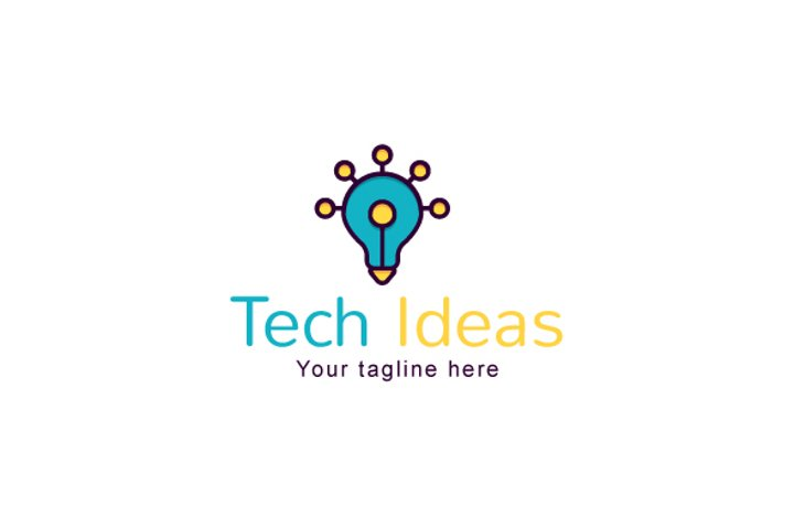 Tech Ideas - Electronic Solutions Stock Logo Template